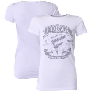 """Forza Sports Women's """"Origins"""" MMA T-Shirt - White"""