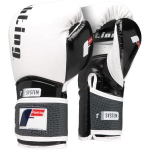 Fighting Sports S2 Gel Power Bag Gloves - White/Black