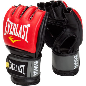Everlast Pro Style Grappling Gloves - Red