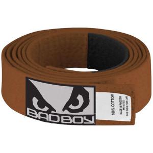 Bad Boy Kid's Jiu-Jitsu Gi Belt - Brown