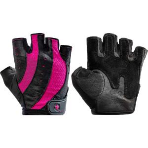 Harbinger 149 Women's Pro Weight Lifting Gloves - Black/Pink