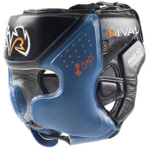 Rival Boxing RHG10 Intelli-Shock d30 Headgear - Black/Blue