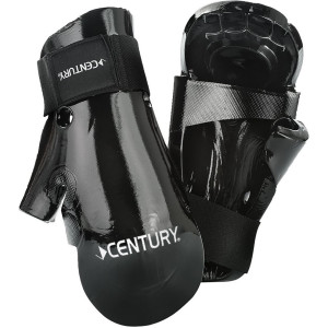 Century Martial Arts Student Hook and Loop Sparring Gloves - Black