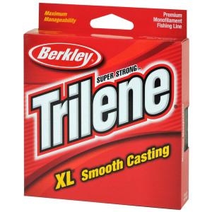 Berkley Trilene XL Smooth Casting Fl. Clear/Blue Fishing Line