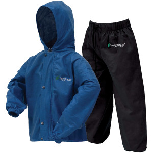 Frogg Toggs Polly Woggs Kids Rain Suit - Blue