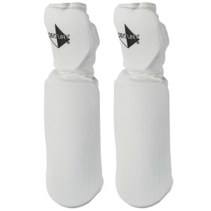Century Martial Arts Cloth Light-Impact Training Hand/Forearm Pads - White