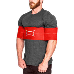 Sling Shot Original Power Lifting Band by Mark Bell, Red