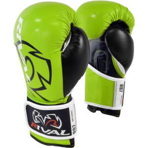 Hook and Loop Bag Gloves - Lime/Black