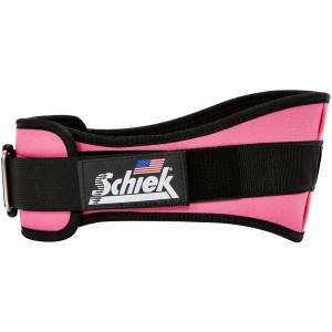 "Schiek Sports Model 2006 Nylon 6"" Weight Lifting Belt - Pink"