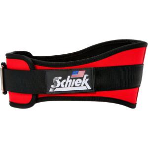 "Schiek Sports Model 2006 Nylon 6"" Weight Lifting Belt - Red"