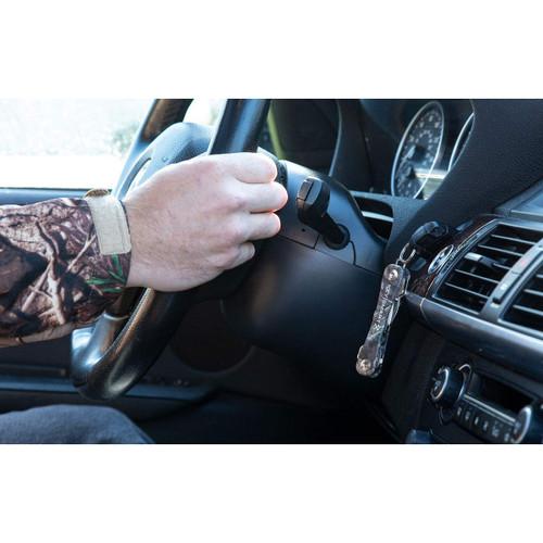 Keysmart Rugged Extended Compact Key Holder with Bottle Opener and Belt Clip
