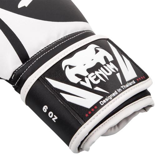 Venum Challenger 2.0 Kids Training Boxing Gloves - Black/White