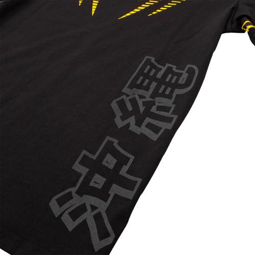 Black//Yellow Venum Kids Okinawa 2.0 Short Sleeve T-Shirt