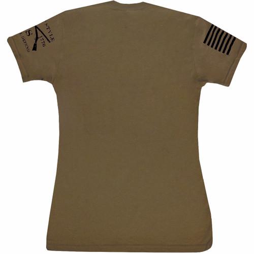 3ace10142 Grunt Style Basic Crewneck T-Shirt - Military Green