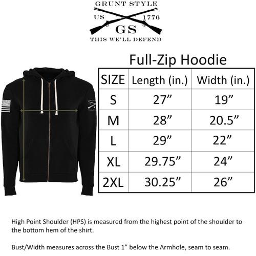Grunt style Basic Full Zip Hoodie 2.0