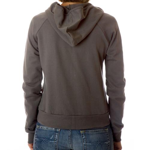 Dethrone Women's Ready Fleece Hoodie - Asphalt