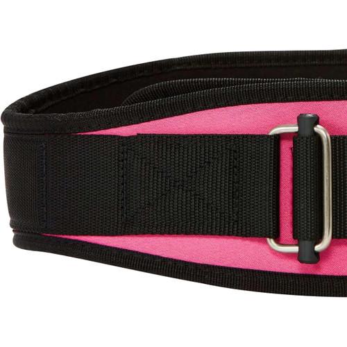 "Schiek Sports Model 2004 Nylon 4 3/4"" Weight Lifting Belt - Pink"