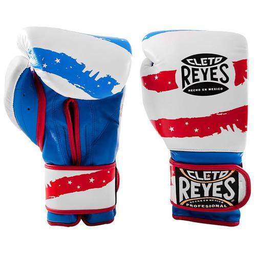 Cleto Reyes Hook and Loop Leather Training Boxing Gloves Gold 16oz  ̶$̶1̶8̶0̶