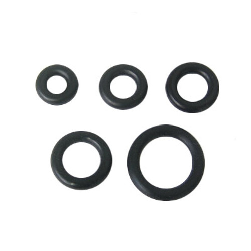 Black Rubber O-Rings