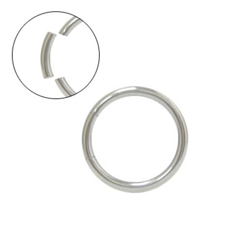 Surgical Steel Seamless Segment Ring