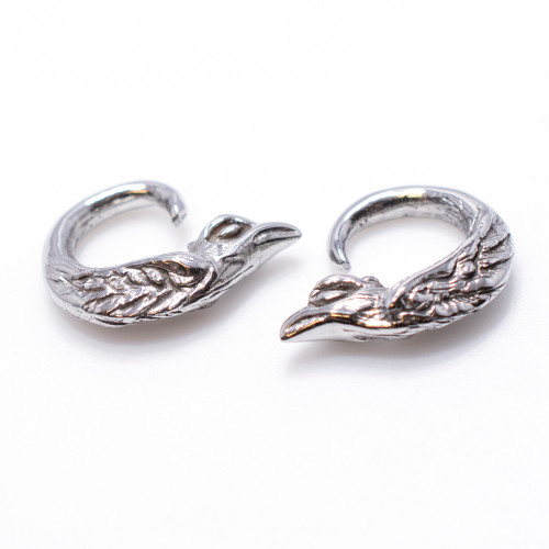 6 Gauge Surgical Steel Bird Ear Plug