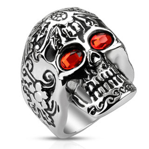Day of the Dead Skull Ring - Out of Stock