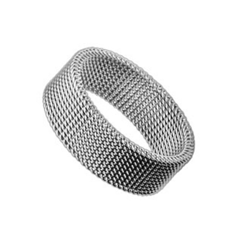 Finger Ring Stainless Steel with Flexible Screen Design