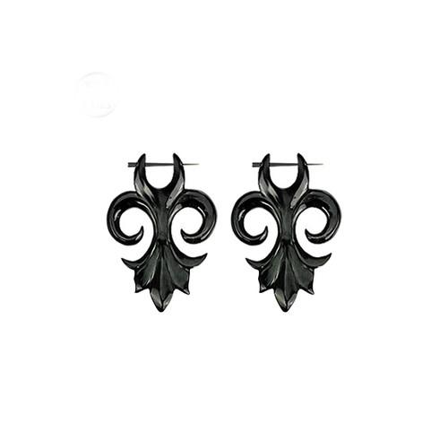 Fleur De Lis Hanger Earring