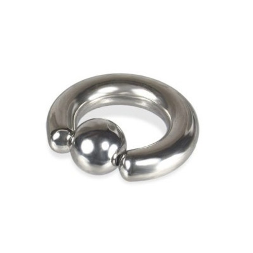 Prince Albert Piercing Captive Bead Ring 0G & 00G
