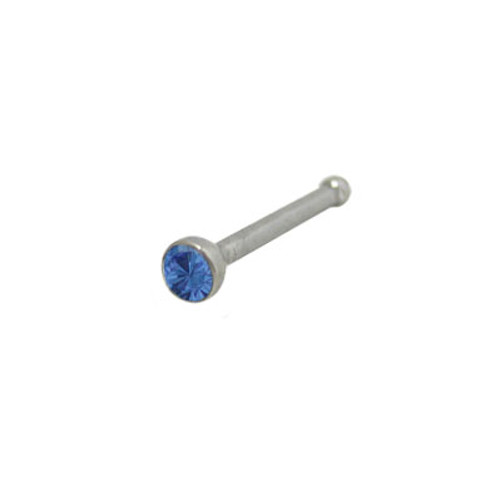 Nose Bone 316L Surgical Steel with Jewel
