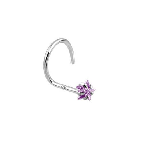 Star Shape Jewel Nose Jewelry