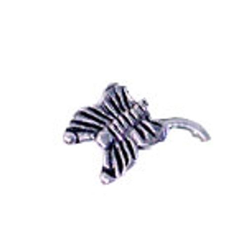 Body jewelry, .925 Sterling silver design, Nose Stud