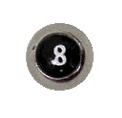 Body jewelry, 316L surgical steel Replacement Bead with Logo, Replacement Bead