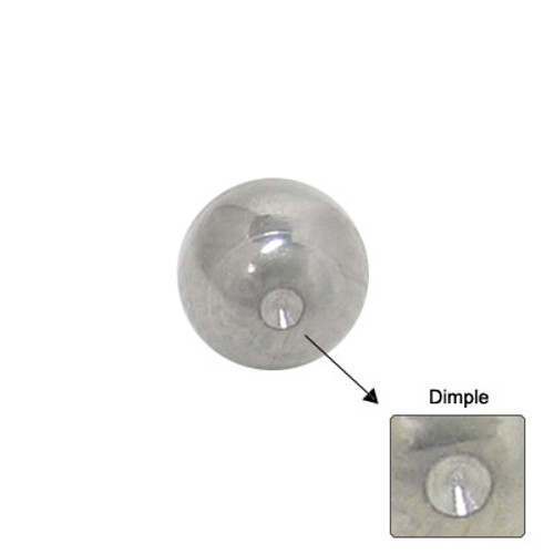 Replacement Dimple Bead Surgical Steel