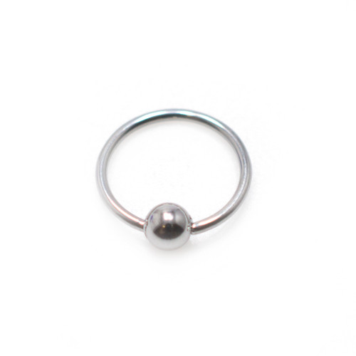 316L Surgical Steel Captive Bead Ring (20 Gauge)