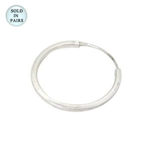 Sterling Silver Hoop Earrings (20mm) - Out of Stock