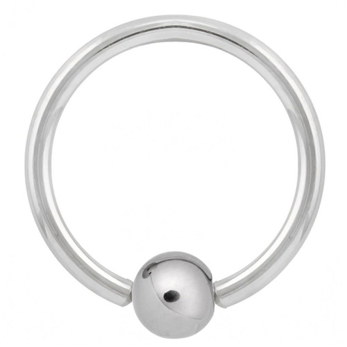 316L Surgical Steel Captive Bead Ring (18 Gauge)
