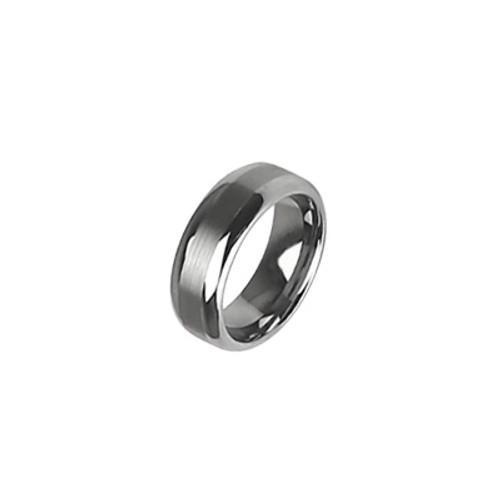 Tungsten Carbide Matte Ring