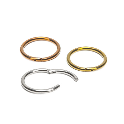 Cartilage Eyebrow Piercing Ring - Titanium 16ga Perfect For Rook, Nose, Lip