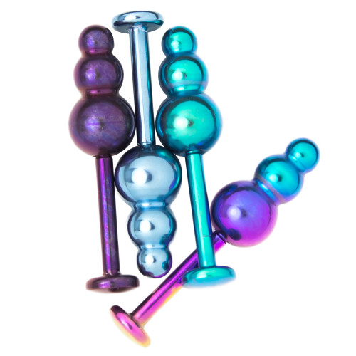 16ga Titanium Labret Lip Jewelry - 4 Assorted Colors - Also Monroe and Cartilage