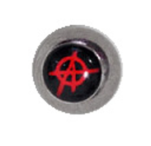 Body jewelry, 316L surgical steel Replacement Bead with Logo, Replacement Bead-1