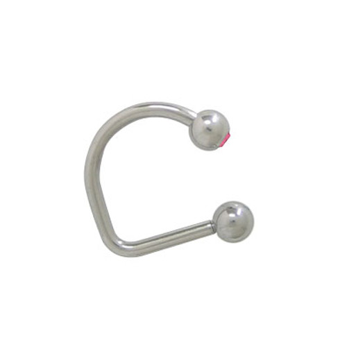 Lippy Loop Jeweled Labret Surgical Steel-5