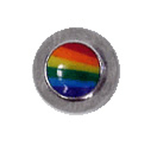 Body jewelry, 316L surgical steel Replacement Bead with Logo, Replacement Bead-3