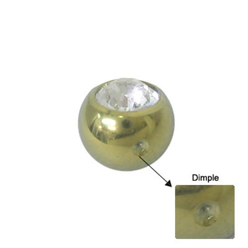 Titanium Jeweled Replacement Dimple Bead-2