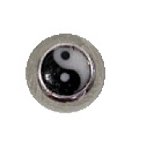 Body jewelry, 316L surgical steel Replacement Bead with Logo, Replacement Bead-6