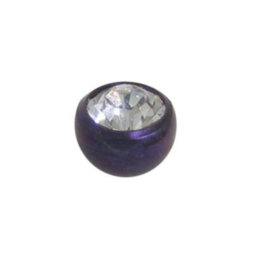 Titanium Jeweled Threaded Replacement Bead-4