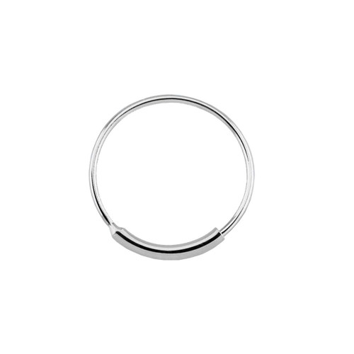 Nose hoop ring with sleeve endless