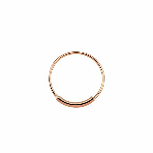 Nose hoop ring with sleeve endless -1