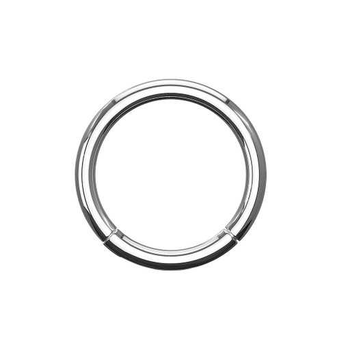 Hoop ring Implant Grade Titanium Hinged Segment Rings good for any piercings Ear nose nipple and more choose your size bellow