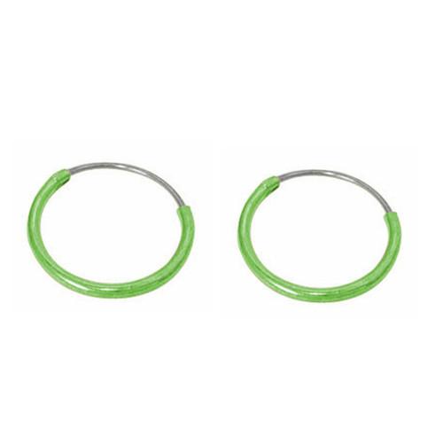 Sterling Silver Hoop Earrings 8mm, 10mm, 12mm Sold in pairs